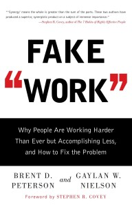 fake work book